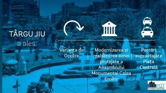 Targu Jiu_Top 3 Proiecte