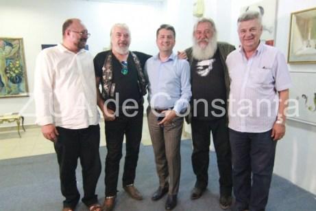 Povestea unei expoziţii de artă în premieră la Constanţa-Nicu Covaci