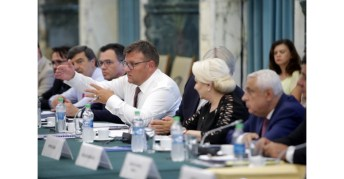 Întâlnirea membrilor Guvernului cu reprezentanții Confederației Patronatului Român6