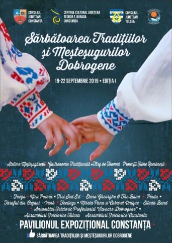 Sărbătoarea Tradițiilor și Meșteșugurilor Dobrogene-afis