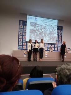 Elevele Bădulescu Lăcrămioara și Lungu Izabela Andra de la Colegiul Național de Arte Regina Maria Constanța1