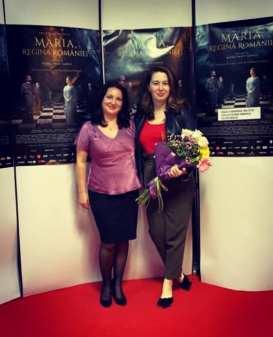 Roxana Lupu - Ruxandra Georgescu - Maria Regina României la Mangalia2