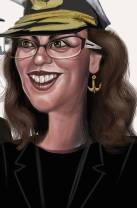 Florentina Loredana Dalian - caricatura de Marian Avramescu