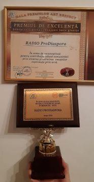 Radio ProDiaspora - Premiul de Excelență Brașov2019b