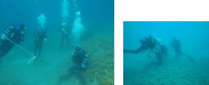 cercetari subacvatice minac