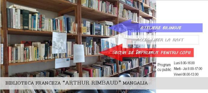 Biblioteca franceza Arthur Rimbaud Mangalia