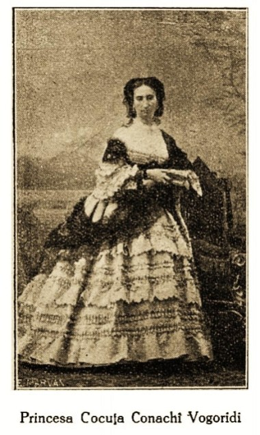 Prințesa Cocuța Conachi Vogoridi