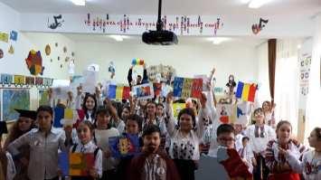 Unirea Principatelor Române sărbătorită de elevii Școlii Gimnaziale Sf Andrei din Mangalia-06