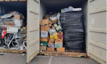 Containere încărcate cu deșeuri, depistate în Portul Constanţa Sud Agigea (5)