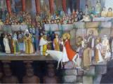Eugeniu Barău - Săptămâna Patimilor - Noul Ierusalim-detaliu
