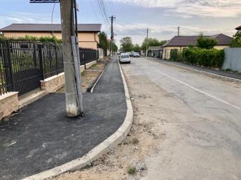 asfaltare trotuare