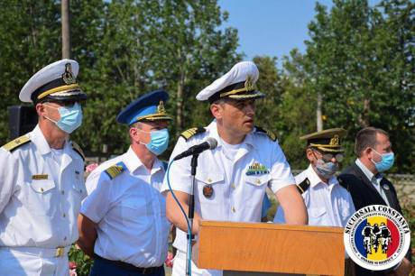 AMVVD Constanța ceremonie cinstirea memoriei militarilor decedați accident Tuzla1