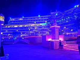 Hotelul Panoramic Olimp pe înserat-foto-Elena Stroe-06