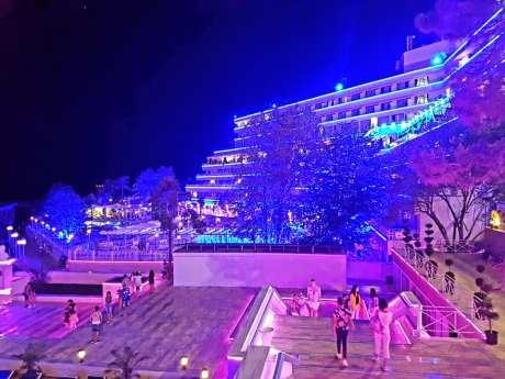 Hotelul Panoramic Olimp pe înserat-foto-Elena Stroe-12