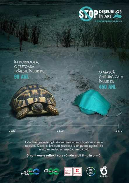 STOP deșeurilor din ape - ABADL-01
