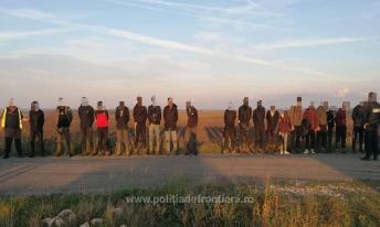 Ostrov 20 de cetățeni din Irak, care au încercat să intre ilegal în România1