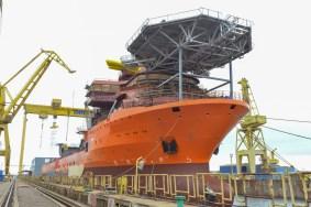 Cinci nave au fost lansate la apă la Șantierul Naval Damen Mangalia5