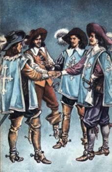 Valentin Tănase - D'Artagnan și muschetarii săi-01