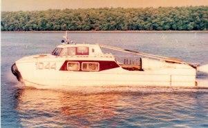 hovercraft 1044 - nava pe perna de aer Galati ICEPRONAV