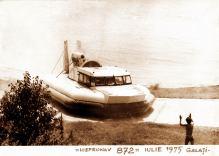 hovercraft 872 - nava pe perna de aer Galati 1975 ICEPRONAV