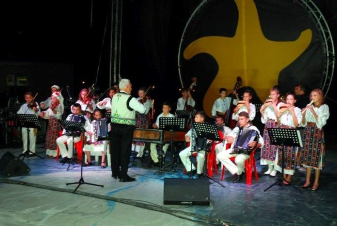 Festivalul tineretii Ans folcloric