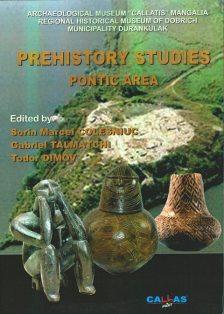 Coperta volumului de studii preistorice