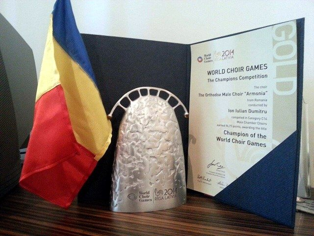 Corul-Ortodox-Armonia-premiat-la-Riga