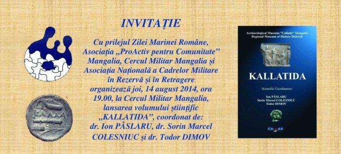 INVITATIE LANSARE KALLATIDA