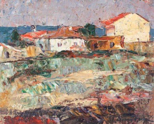 Stefan DIMITRESCU-Case-la-mangalia-1925