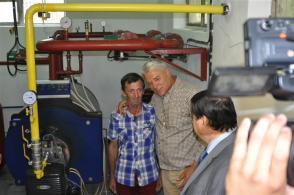 foto 3-La Mangalia s-a pus în funcţiune sistemul de distribuţie a gazelor naturale