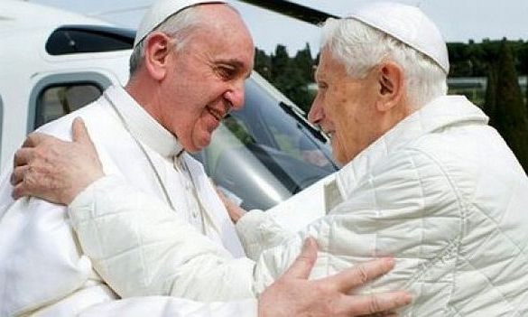 Papa German şi Papa argentinian