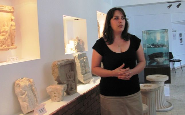 tatiana odobescu muzeul de arheologie callatis mangalia