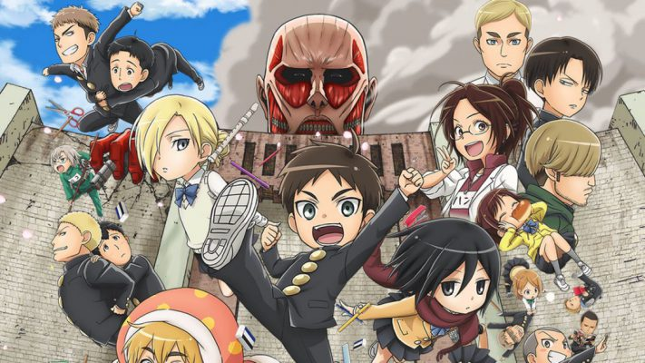 Attack on Titan Junior High: la parodia di se stesso