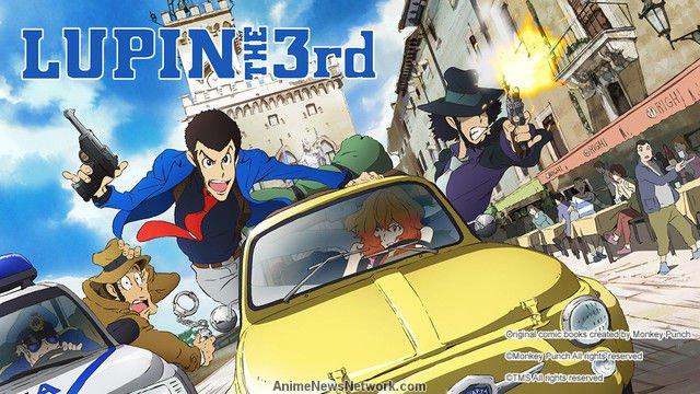 Lupin The 3rd – Prima serie: tutti i dettagli della versione in Blu-Ray