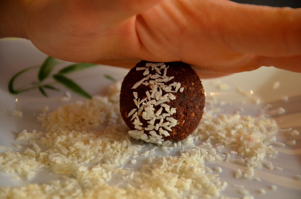 Energy balls noix de coco
