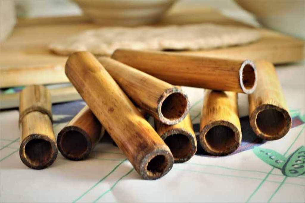 bamboo cannoli dowels