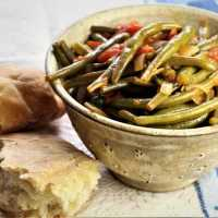 Stewed Green Beans with Tomatoes
