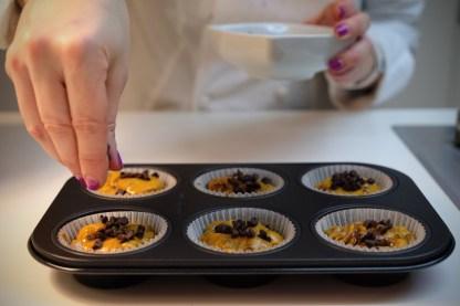 ricetta muffin zucca cioccolato