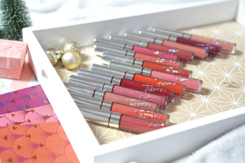 Colourpop liquid lipstick swatch