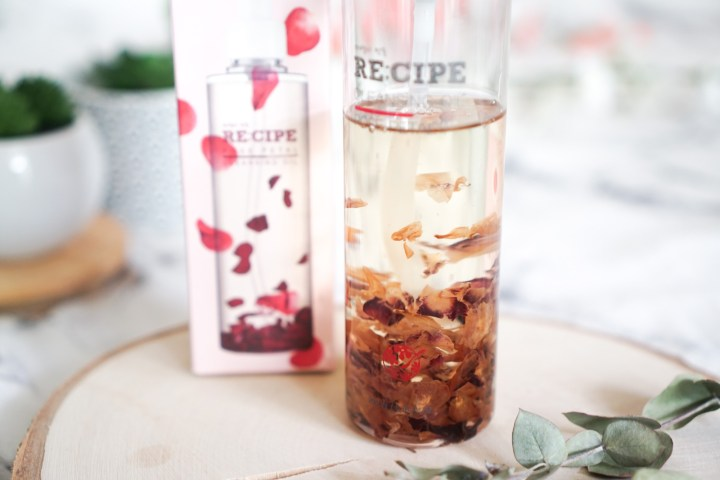 K-beauty Re:cipe Cleansing Oil Rose Petal
