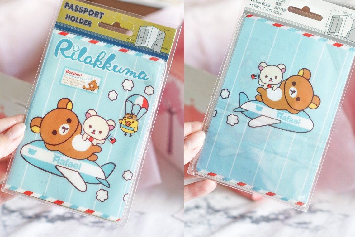 Rilakkuma Passport holder