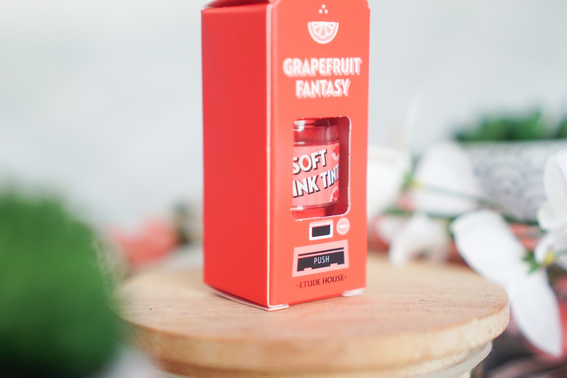 Etude House Soft Drink Tint Grapefruit Fantasy