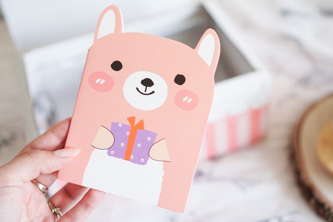 Crazy Kawaii Box Cute Dog Notebook