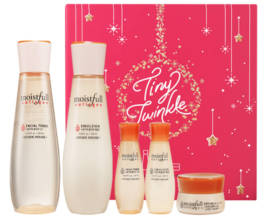 Etude House Tiny Twinkle Moistfull Collagen Set