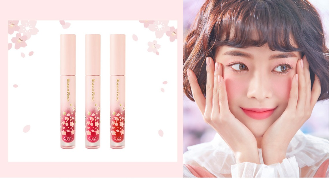 Etude House Picnic Blossom Matte Chic Laquer swatch