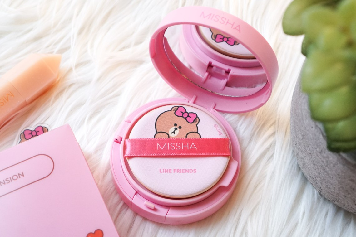 Missha LINE Friends Glow Tension Cushion 23