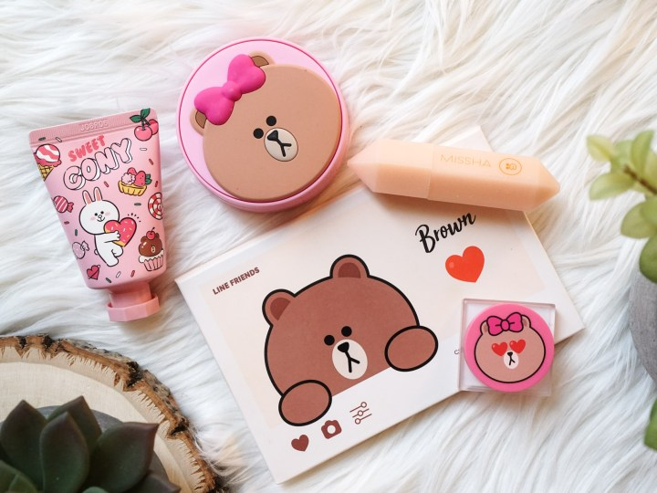 Missha LINE Friends Color Filter Palette