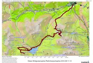 Obere Wildgrubenspitze Plattnitzerjochspitze 2015 09 11-12