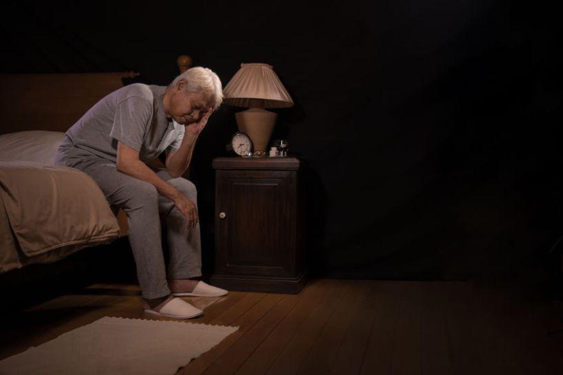 sadness vs. depression man