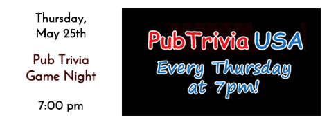 Pub Trivia USA Every Thursday Night at Manhattan's